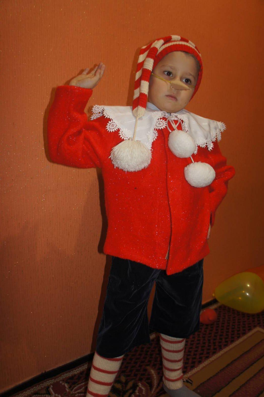 Новогодний костюм Буратино своими руками 81